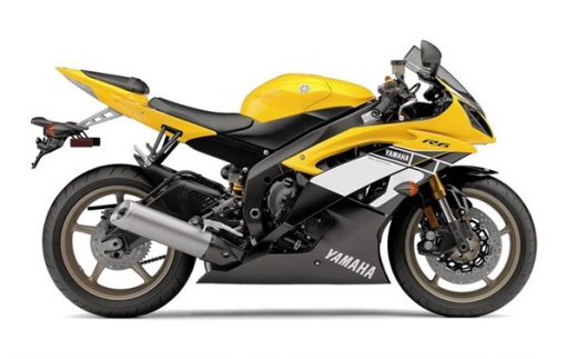 Yamaha-2016 Yamaha  YZF-R6 - 60th Anniversary Yellow-Richmond Honda House