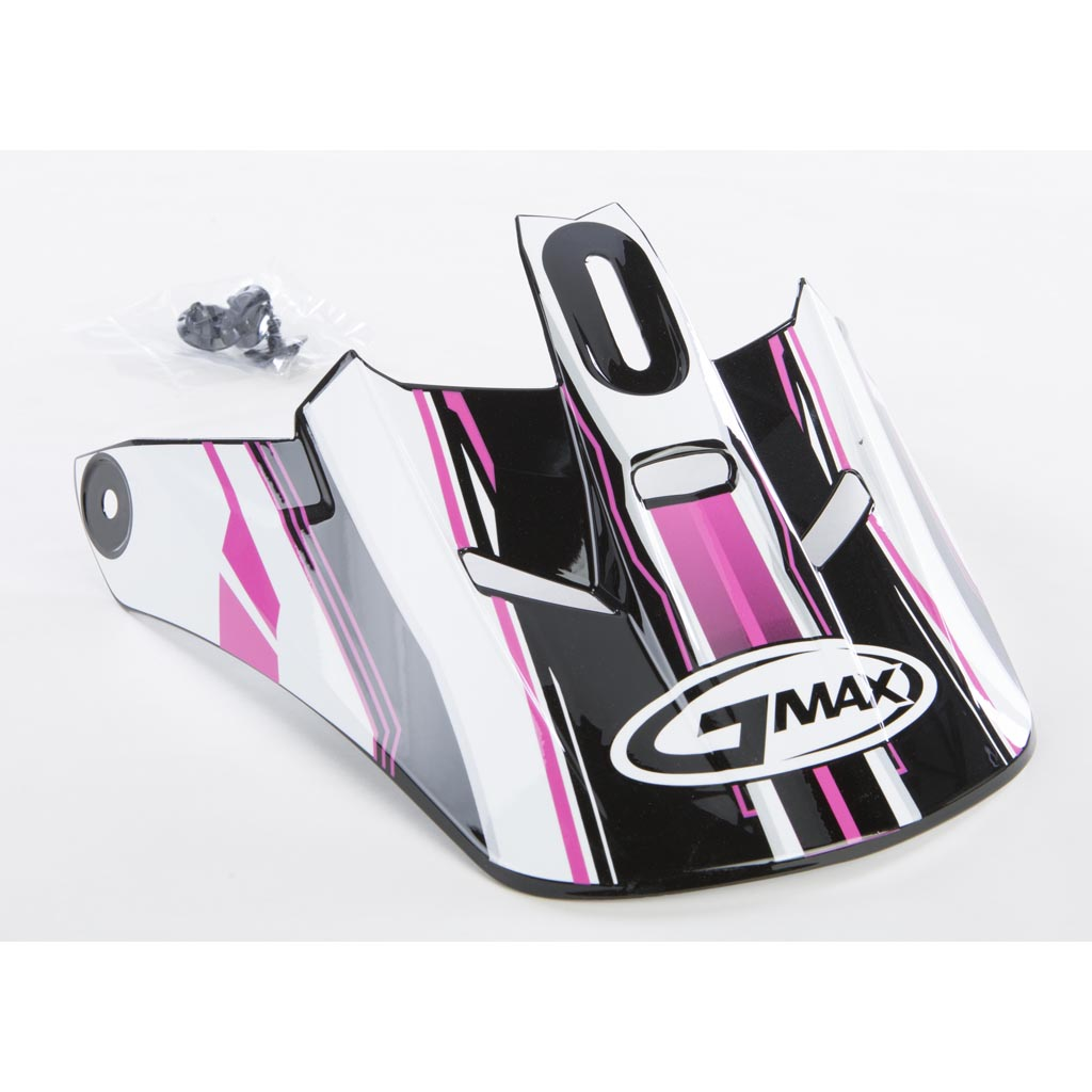 5c7530ace8f0f Gm46.2 Traxxion Helmet Visor Black Pink White Xs-S - Richmond Honda ...