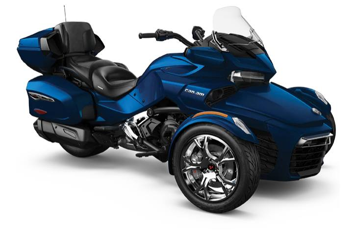 2019 Can Am Spyder Rt Limited Se6 Chrome Trim